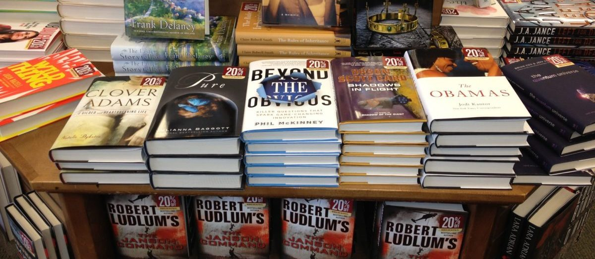 On the shelf at Barnes and Noble - Beyond The Obvous