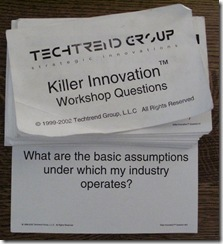 killer questions killer innovations questions card deck