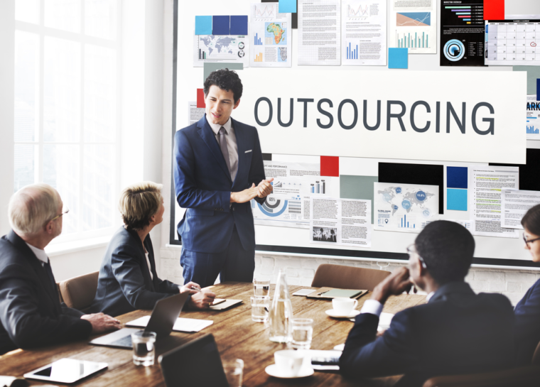 outsource as needed