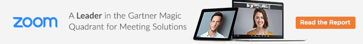Zoom - 2017 Gartner Magic Quadrant for Meeting Solutions - Is a sponsor of the Killer Innovations Show